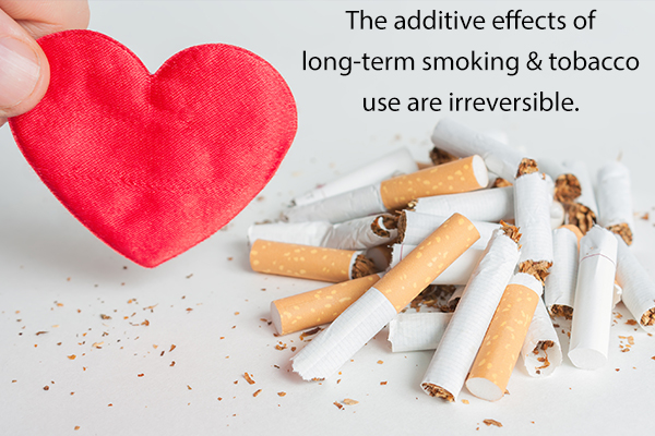 are the additive effects of long-term smoking reversible?