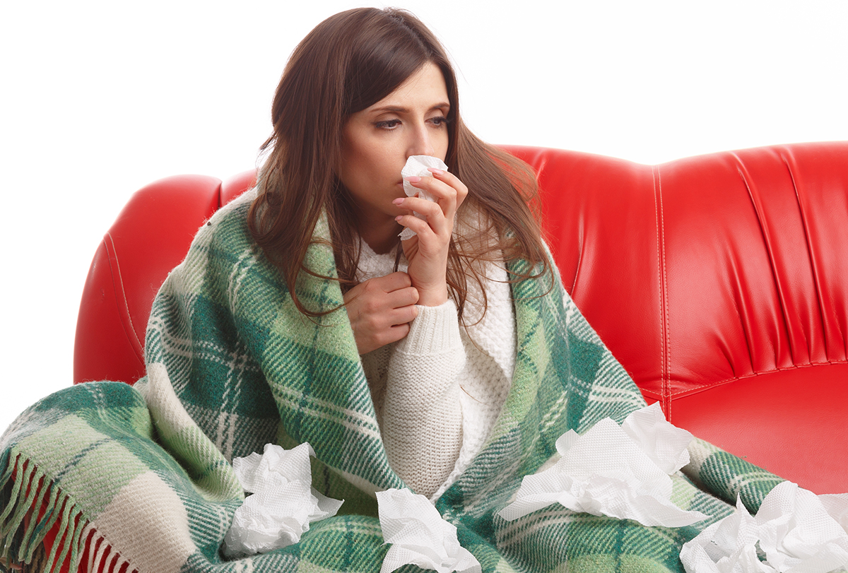 at-home remedies to stop a runny nose