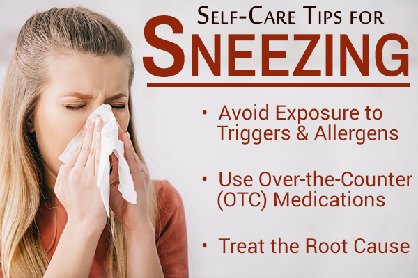self-care tips to stop sneezing