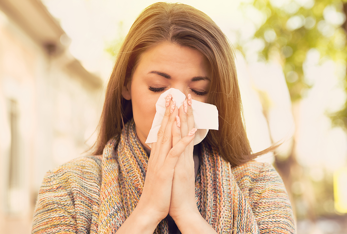 how to manage spring allergies