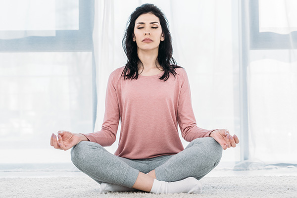 practicing mindfulness meditation can relieve tension headache