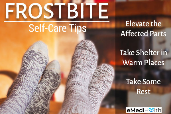self-care tips against frostbite