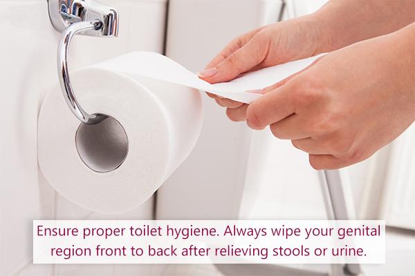 self-care tips to prevent uti