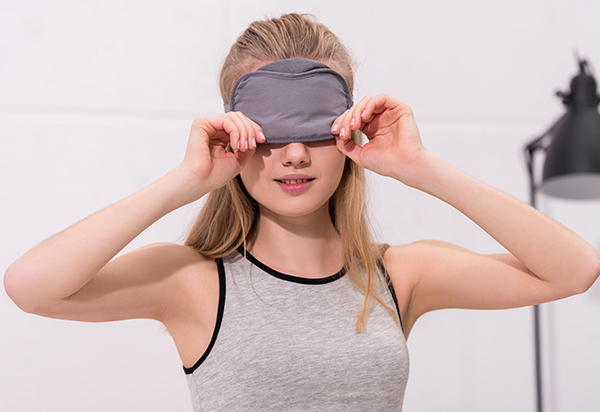 place a warm compress on the affected eye to relieve discomfort