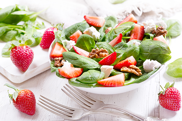 anti-inflammatory berry salad recipe