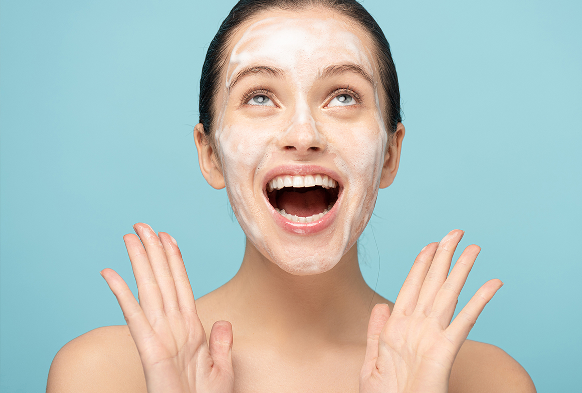 facial blemishes