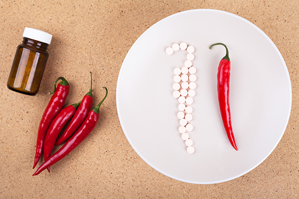 drug interactions with cayenne pepper