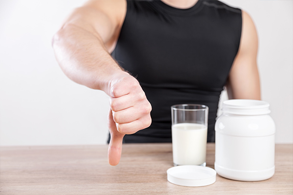 avoid consuming commercial protein shakes