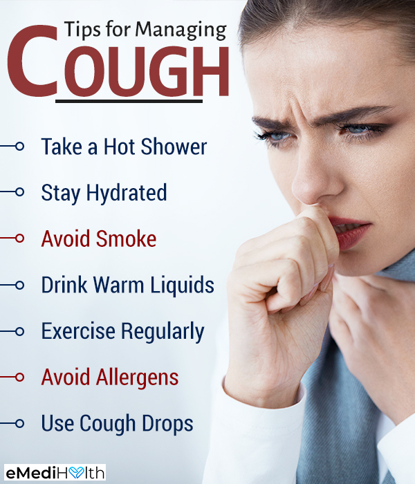 self-care tips to ease a cough