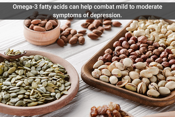 nuts and seeds consumption can help manage depression