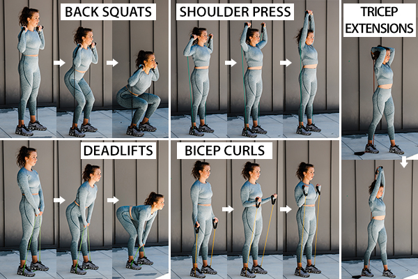 common weight lifting exercises