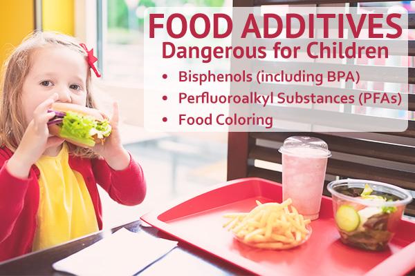 food additives dangerous for children