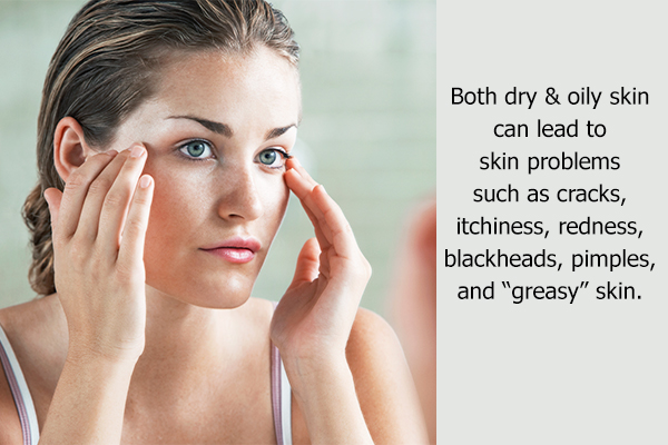dry/oily skin is a common skin ailment