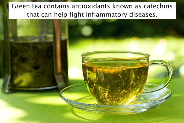 green tea can help ward off inflammation