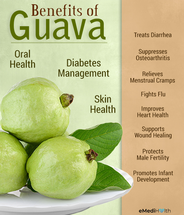 health benefits of consuming guava