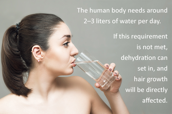 consume more water for optimal hair health