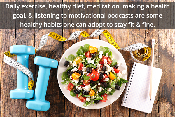 healthy habits to make you fit