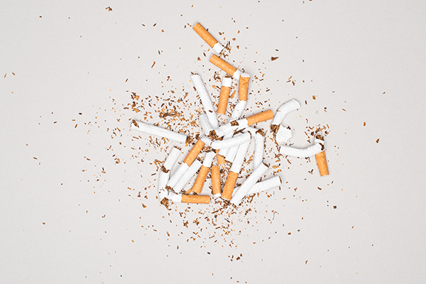 adverse effects of nicotine on the body