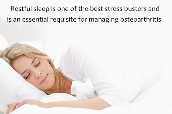 adequate rest is must for managing osteoarthritis