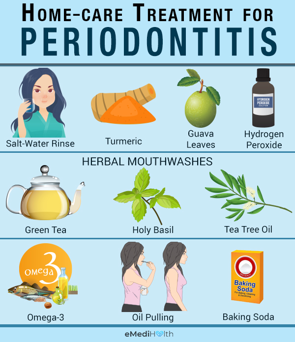 at-home treatments for periodontitis