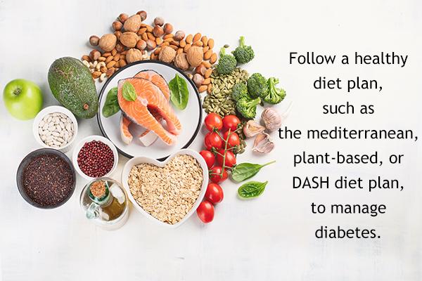 should diabetics follow any specific diet plan?