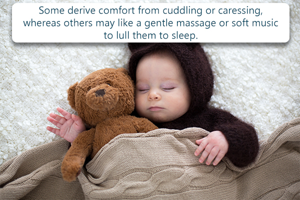 plan and implement a consistent sleep routine for the baby