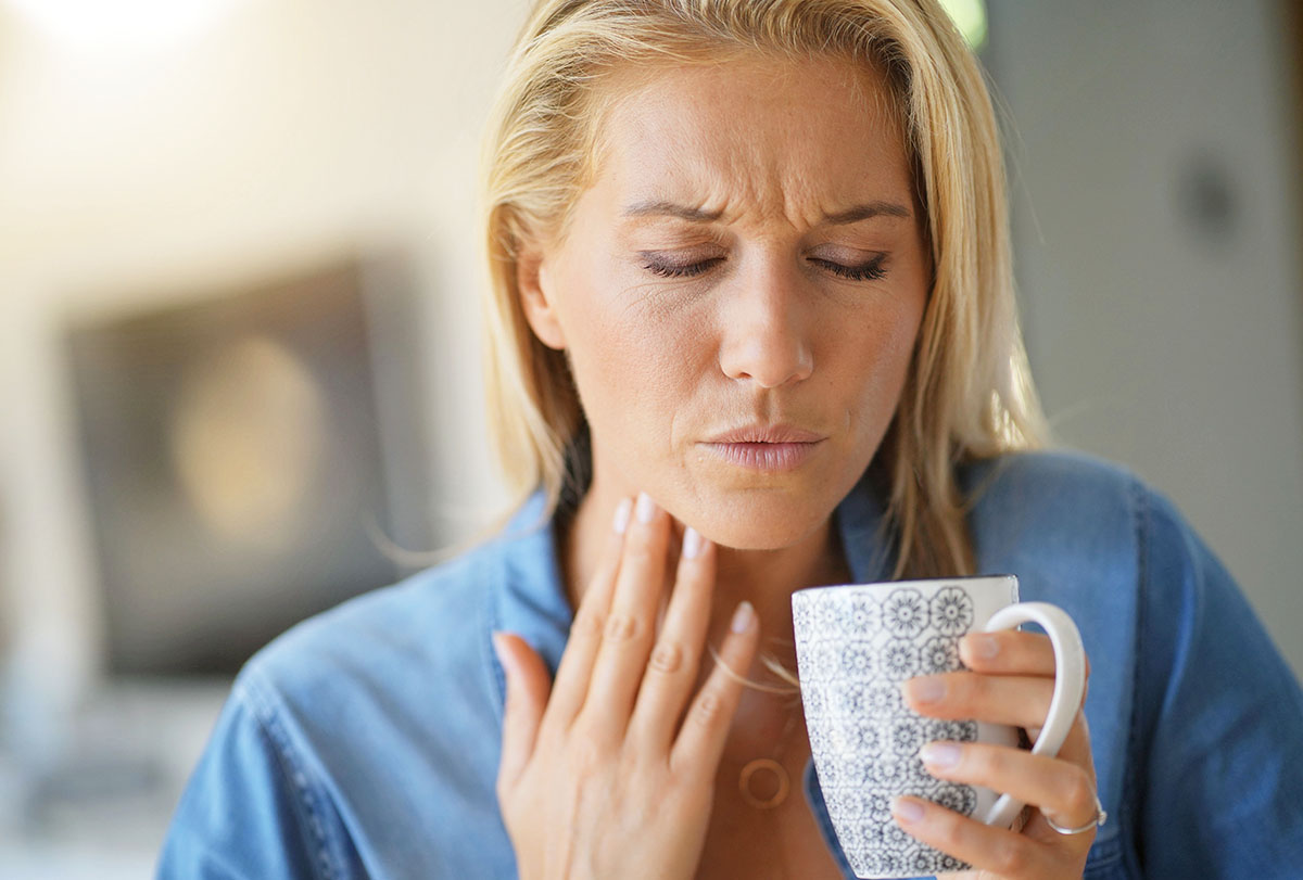 natural ways to soothe a strep throat