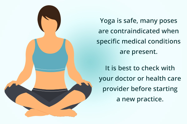 precautions before performing yoga for certain people