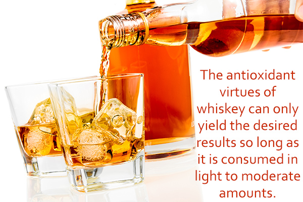 health benefits of consuming whiskey