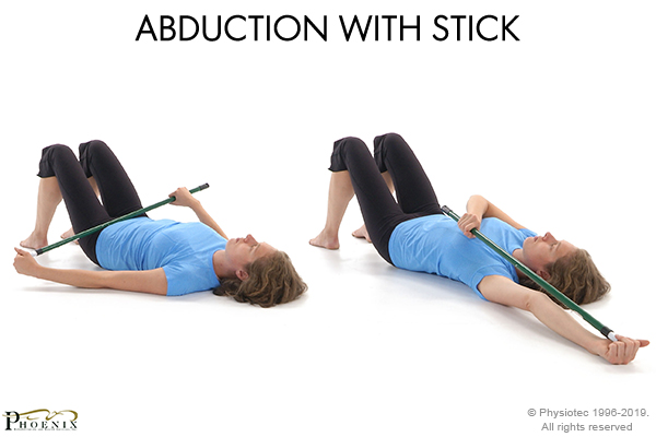abduction with stick