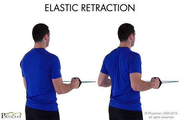 elastic retraction