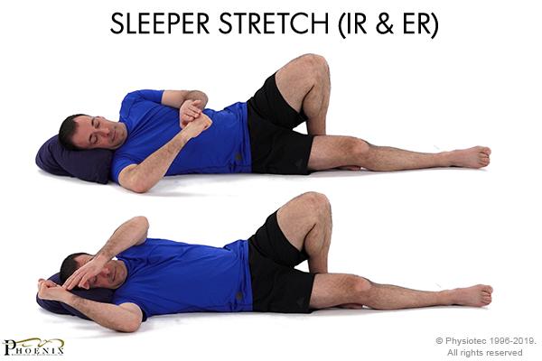 sleeper stretch (ir and er)