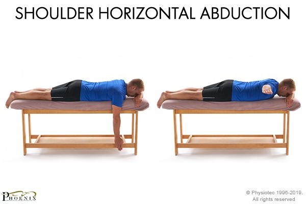 shoulder horizontal abduction
