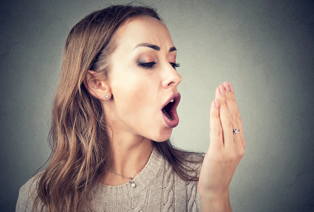 bad breath (halitosis)