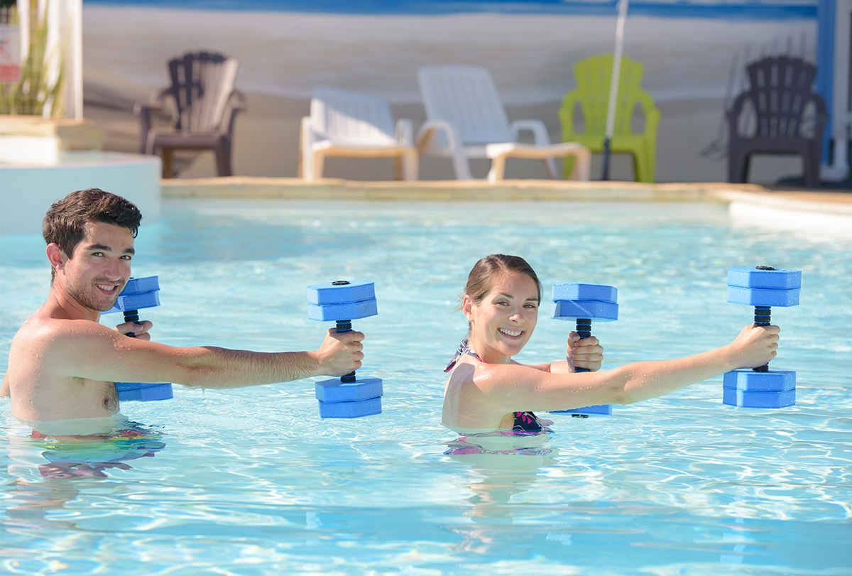 exercising in water benefits