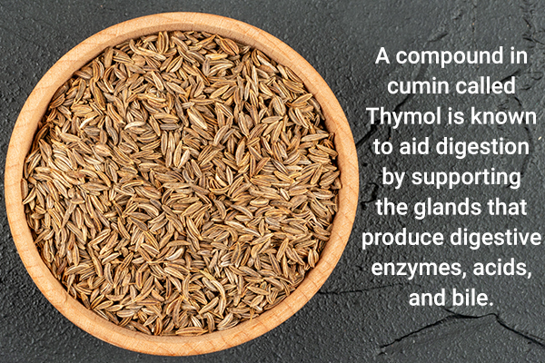 consuming cumin can promote better digestion