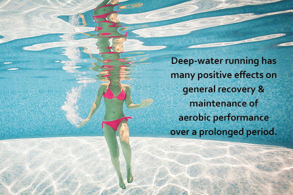 deep-water running has many positive benefits on health