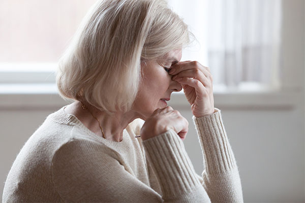 symptoms of dehydration in the elderly