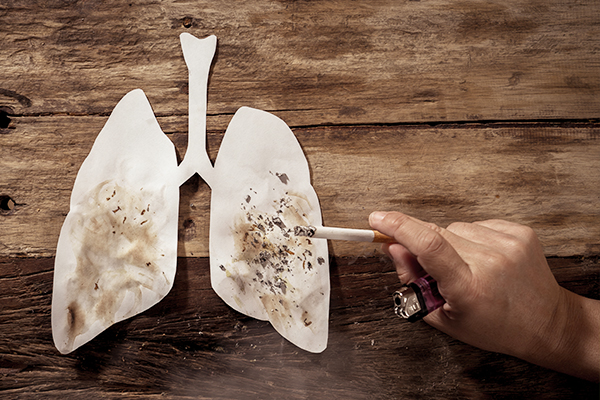 smoking can prove toxic for epithelial and endothelial cells