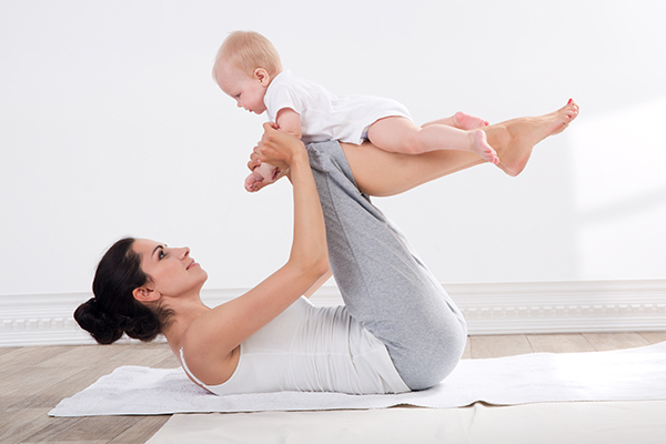 regular exercising can help reduce loose skin after pregnancy