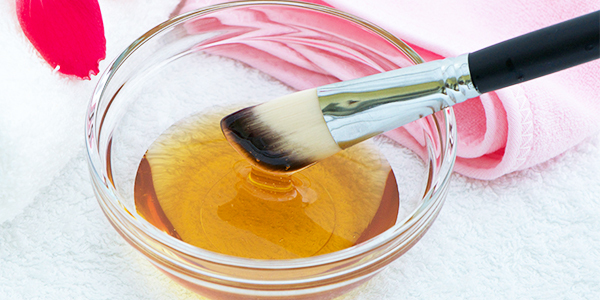 honey can help hydrate the skin and reduce dark spots