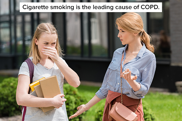 smoking can prove harmful for mucus-producing cells