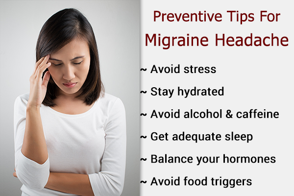 tips to prevent migraine flare-ups