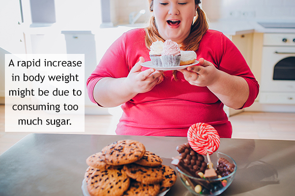 signs that indicate overconsumption of sugar