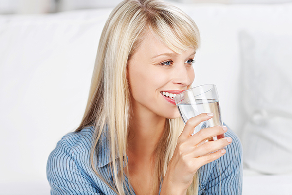 staying hydrated is essential to prevent dry skin