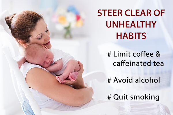 steer clear of unhealthy habits which can harm your skin