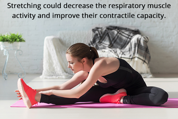 certain stretching techniques can prove to be helpful for the lungs
