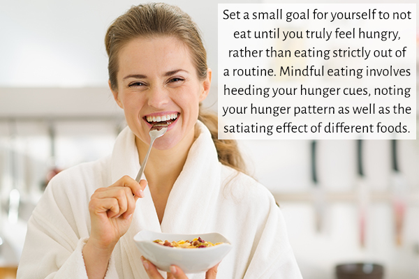 effective ways to monitor your calorie intake