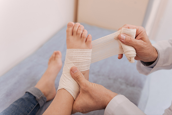 injuries that require medical care rather than RICE treatment