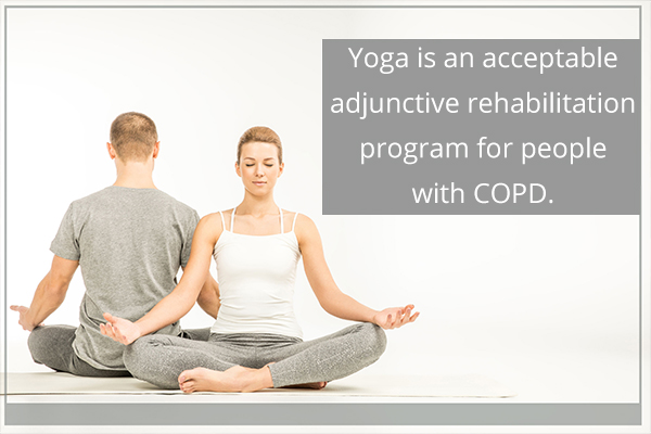 doing yoga regularly is beneficial to the lungs